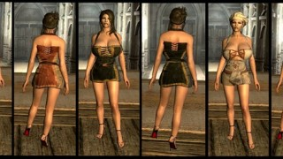 Arousing Attire-Revealing Female Clothing CHSBHC BBP4
