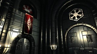College of Winterhold to Star Wars Sith Academy_WIP