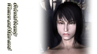 Oriental beauty Character001
