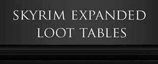 Skyrim Expanded Loot Tables