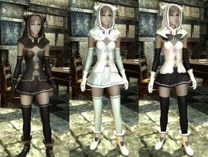 【スカイリム/服・ローブMOD】Witch Girl Robe ClothingMod001